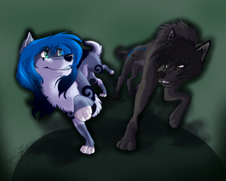 Lets race .:SPEEDPAINT:. by SnowyCakes