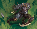 Rengar, the Pridestalker by fivetinsoldiers