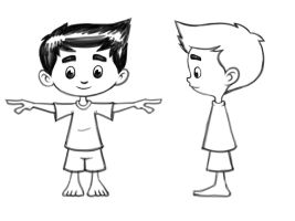 Totoy Character Studies by earthwormnistic