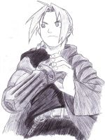 Edward Elric Pen by Shadow-Wing456