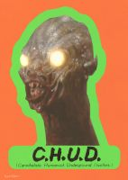 Chud Tradding card by Hartter
