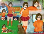 Velma Scooby-Doo Character Collage by DannimonDesigns