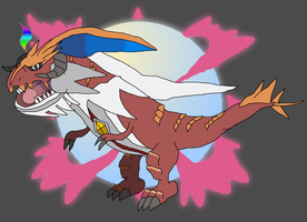 Fake Mega Evolution - Mega Tyrantrum by thebestmlTBM