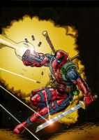 DEADPOOL Cover Art by MarkSaxton