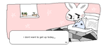 i dont want to get up today,, by deergf