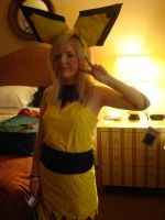 Cosplay -- Pichu gijinka by LittleMissAnesthetic