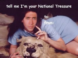 national treasure by vaIentines