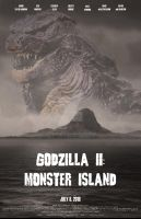 Godzilla II: Monster Island, poster 2 by Konack1