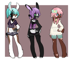Bunny Adopt(1/3)(OPEN) by Assorted-Adopts