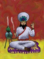 Card 2 the Caliph by KingNot