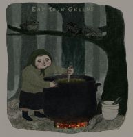 Baba Yaga and the Toad Soup by EyeBallPingPongPro