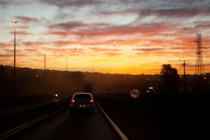 Road Sunset by altieresrohr