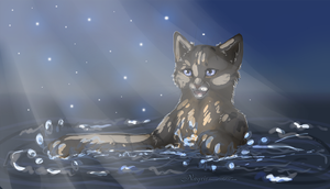 The glittering water. by Nayris