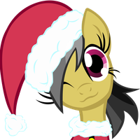 Daring Do Santa Hat by hunterz263