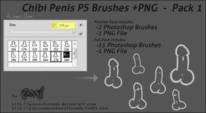 Penis Pack 1 by Cammerel