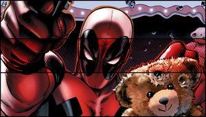 Deadpool PSP Wallpaper by DraggoonX12