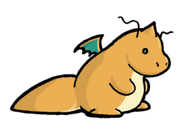 Dragonite in COLOR by TakShadoWing