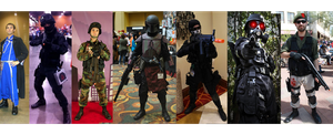 Cosplay Through the Years by Nachtwolfen18