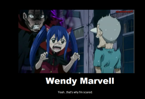 Wendy Marvell: Be Scared by PaleGrayGarden