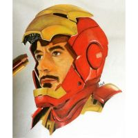 Iron Man - Prismacolour and copic makers. by maymayn