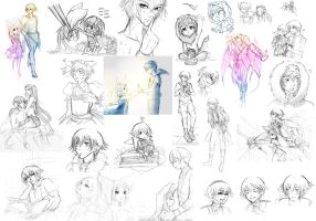 CL: yulion rough doodle dump by Fortranica