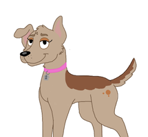 Pound puppies oc ginger by vexhis