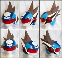 Megaman Geo/Starforce Helmet by Vogelkop
