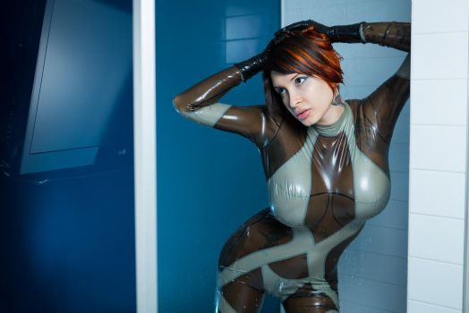 Space Girl by Ariane-Saint-Amour