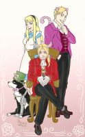 FMA Alice in Wonderland by kmchin