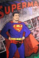Superman - Action Comics style by daddycool