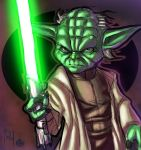 Master Yoda - colors by ZethKeeper