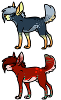 Canine Adopts by FlSHES