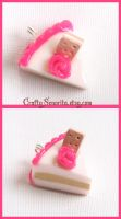 Cake slice with a lil biscuit by Tonya-TJPhotography