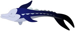 My third Sturgeon vector. by Flutterflyraptor
