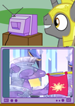 .:Unicorn Guard TV Meme: Crystal Guard in EQG:. by XAniKrawlerLazarX