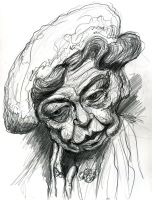 Eleanor Roosevelt by Caricature80