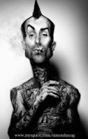 Travis Barker by simonhayag