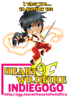 Heart of Wildfire INDIEGOGO! by meago