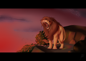 King`s roar by AkasiroHardis