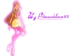Winx Club Flora Fashion Gold - PNG! by PrincessBloom93