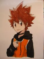 Tsuna by Zebra1994