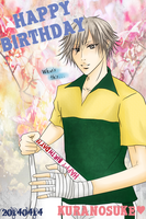 Happy BirthDay SHIRAISHI!! by HeavyGauze