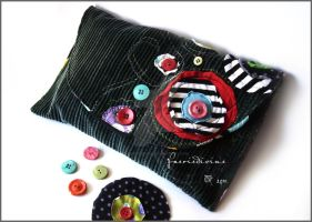 Colorful purse by Faeriedivine