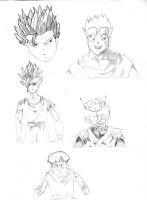 Lots of Gohan by PanTrunks