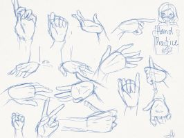 Hand practice by HeartSelect