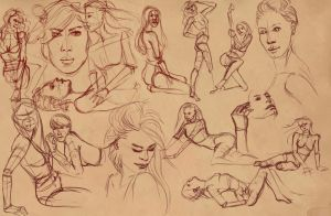 200 seconds sketches 3 by BasakTinli
