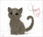 A Furry Kitty :D by vanipy05