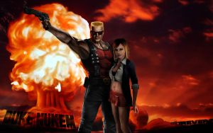 Duke Nukem Wallpaper by hhunt24
