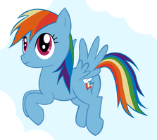 Rainbow Dash Flight Flash by steffy-beff