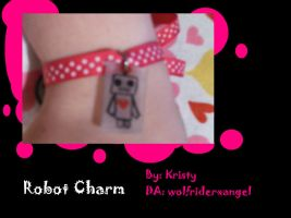 Robot Charm by Wolfriderxangel